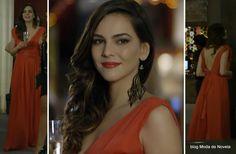 moda da novela Em Família - look da Marina dia 4 de julho