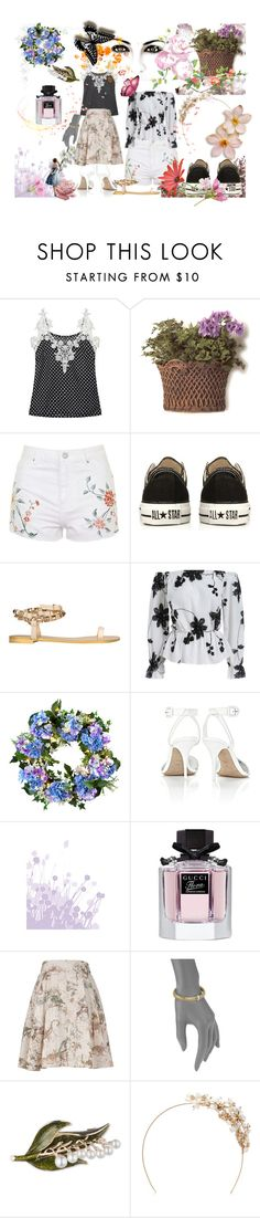 """""""Primavera"""" by armp-2 ❤ liked on Polyvore featuring Thos. Baker, Topshop, Converse, Giuseppe Zanotti, Improvements, Alexander Wang, Gucci, Melissa McCarthy Seven7, Roberto Coin and Anne Klein"""