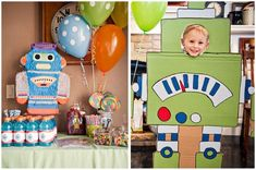 What a cute idea for a son's birthday party