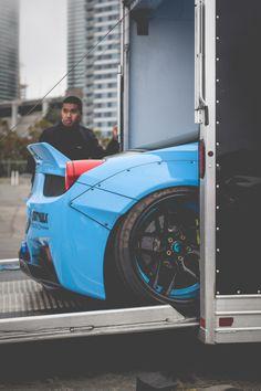 """how2photo: """"LibertyWalk 458 Italia x Forgiatos. """""""