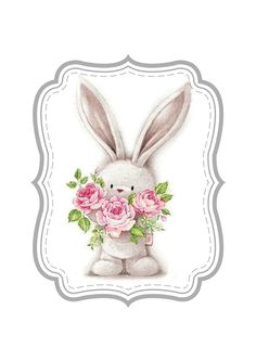 Bebunni & Roses The World of Cross Stitching Issue 267 May 2018 Zinio Hardcopy in Folder Cute Images, Cute Pictures, Image Deco, Images Vintage, Cartoon Pics, Kirigami, Cute Bunny, Copics, Cute Illustration