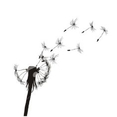 Blow Dandelion Tattoo with a-da-do-da (means father in Cherokee) in the blown seeds.  A tribute to the first man I ever loved.