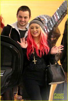 Christina Aguilera & Matthew Rutler: Koi Restaurant Date!