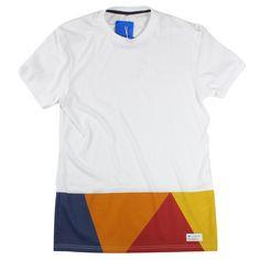 Adidas Originals White M Triangle T Shirt