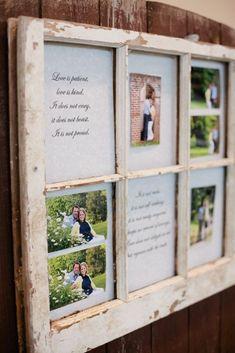 DIY Rustic Picture Frame Ideas | DIY rustic wedding