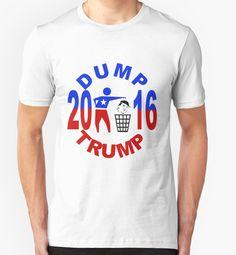 #Dump #Trump #T-Shirts & Co. von #pASob-dESIGN | Redbubble http://www.redbubble.com/de/people/pasob-design/works/20320614-dump-trump?grid_pos=3&p=t-shirt&style=mens