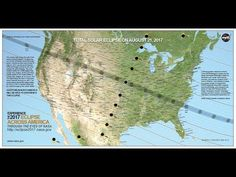 Eclipse Hear data visualizer Ernie Wright discuss the map in the video above. To see the maps unedited, watch the two videos below. Music credit: Life Choices by Eri. Cosmos, Solar Eclipse 2017, Nasa Eclipse, Physics And Mathematics, Total Eclipse, Earth From Space, Space And Astronomy, Our Solar System