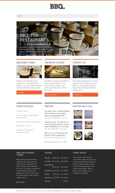 BBQ | Wordpress Theme Design