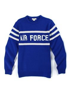 Air Force Crewneck Stadium Sweater - Hillflint | Luxury Sweaters | Collegiate Apparel