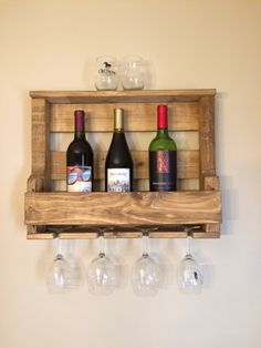 Pallet Wine Rack Instructions Are Super Easy Free wooden pallets