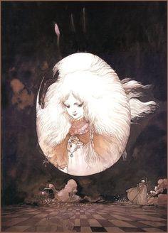 Yoshitaka Amano - Angel's Egg