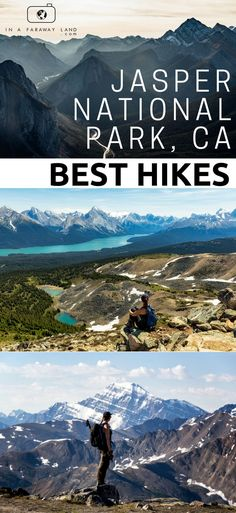 Western Canada ❤️ Do you want to see Jasper beyond the boot beaten tourist trail? Check out some of these awesome hikes in the biggest National Park of the Rockies Alberta Canada, Canada Canada, Canada Travel, Travel Usa, Beach Travel, Rocky Mountains, Vancouver, Montreal, Toronto