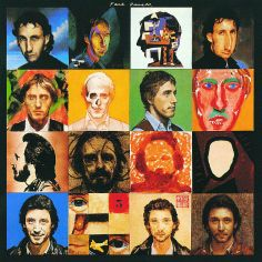Artwork page for 'Illustration to the cover of 'Face Dances'', Peter Blake, 1981 Peter Blake, Abbey Road, Tom Phillips, The Quiet Ones, Pochette Album, Music Album Covers, Music Albums, Black Sharpie, Punk