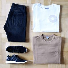 Outfitgrid - Zara jeans / Han Kjobenhavn tee / COS sweat / adidas Y-3 shoes