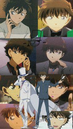 Magic Kaito, Manga Anime Girl, Cute Anime Boy, Anime Monochrome, Kaito Kid, Detective Conan Wallpapers, Godchild, Kids Wallpaper, Case Closed