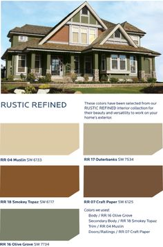 Get a down-to-earth feel inspired by sun baked adobe, Italian stucco and sandstone with the HGTV HOME™ by Sherwin-Williams Rustic Refined Collection.