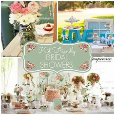 Kid-friendly Bridal Showers
