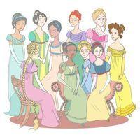 Jane Austen Disney Princesses