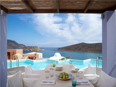 Domes of Elounda Royal Spa villa view