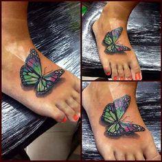 Die 13 Besten Bilder Von Butterfly Tattoos Butterflies 3d Tattoos