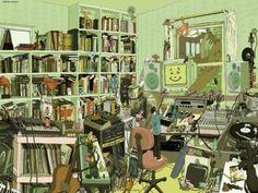 Comprar puzzle Mi Música, 1000 piezas, Heye Referencia: 29338 http://sinpuzzle.com/puzzle-1000-piezas/1908-29338-puzzle-mi-musica-1000-piezas-heye.html