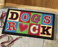 A good door mat is essential. This is my personal favourite!