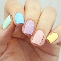 Easter nail designs are the cutest ones among the rest of the spring nail art ideas. Rabbits, eggs, chickens and flowers, it can be anything. Check out this compilation to see some the best Easter nail designs to try this weekend! Best Acrylic Nails, Acrylic Nail Designs, Nail Art Designs, Nails Design, Unique Nail Designs, Acrylic Nails Pastel, Acrylic Art, Cute Designs, Easter Nail Designs