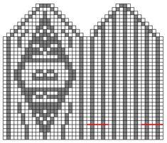 MAJAS HOBBYKROK: RBK-votter (oppskrift) Mitten Gloves, Mittens, Willis Tower, Knit Crochet, Knitting, Soccer, Football, Futbol, Tricot
