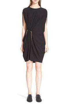 LANVIN Chain Detail Jersey Dress. #lanvin #cloth #