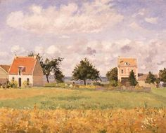 Camille Pissarro(Danish-French 1830ー1903)「The Red House」(1873)