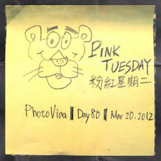 PhotoVida Day80 Topic: Pink Tuesday, download this App for more! : ) #photochallenge #photovida #365 #app #iphoneography