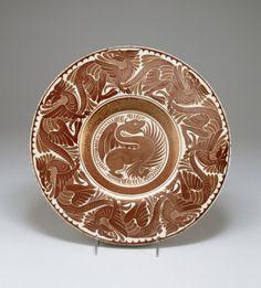 "waltersartmuseum: "" Art of the Day: Rice Dish William De Morgan was a designer…"