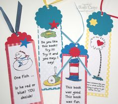 free dr. suess printables | Dr. Seuss Bookmarks