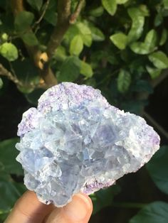 Purple and Blue Fluorite Crystal 170 gm, China, Double Sided, Mineral Specimens, Healing Crystal, Meditation Stone, Altar Stones by SacredSpaceMinerals on Etsy