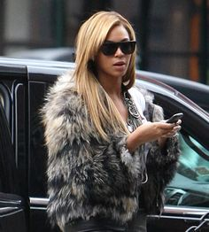 10 Celebrities Who Wear Fur - Beyonce - ANOTHER HUGE DISAPPOINTMENT!