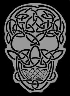 celtic skull | Celtic Skull by TheRaevyn13