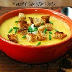 Butternut Squash Potato Soup recipe