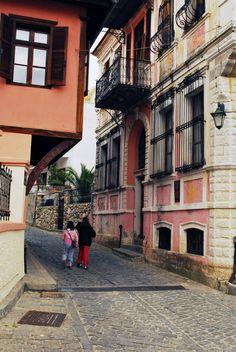 Old town Ksanthi in de region of East Macedonia n Thrace in northeastern Greece