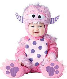 Lil Pink Monster Infant Costume