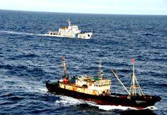 Argentina ametralla y hunde buque chino en sus aguas: China presenta queja | Patagonia
