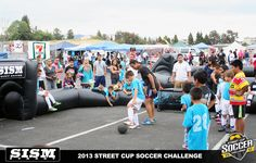 #StreetSoccer Challenge - Soccer In Slow Motion with Louie Mata. San Jose, CA