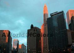 Voglio il mondo a colori - Chicago, tramonti
