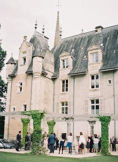 Elegant French Chateau Wedding.  #Sensationnel#MyDreamWedding