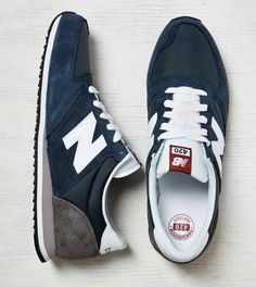 Navy New Balance 420 Running Sneaker