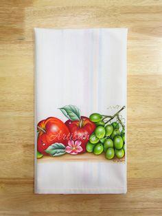 Set Of 2 Big Eyed Owls Cotton Kitchen Towels Nicole Miller cute decor cotton