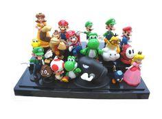 $17.98 (Buy here: https://alitems.com/g/1e8d114494ebda23ff8b16525dc3e8/?i=5&ulp=https%3A%2F%2Fwww.aliexpress.com%2Fitem%2F18-suit-6cm-PVC-Super-Mario-Garage-Kits-Children-s-favorite-toy-Quite-a-bargain-lovely%2F32590202400.html ) 18/suit 6cm PVC Super Mario Garage Kits Children's  favorite toy Quite a bargain,  lovely doll Mary, suitable for decoration for just $17.98