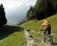 Hundred year old roads and singletrack lead to Poschiavo from Cavaglia - Switzerland for Dummies: Engadin - St. Moritz - Part 4