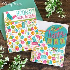 The best place to buy Scrapbooking and Card making supplies like Copic Markers, Lawn Fawn, Adhesives and More! 9th Birthday, Happy Birthday Cards, Birthday Wishes, Birthday Celebration, Card Making Inspiration, Making Ideas, Christmas Themes, Christmas Crafts, Celebrating Christmas