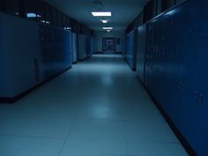 grunge, blue, and school image