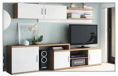 Salón moderno y barato también disponible en nogal-blanco, blanco-grafito y blanco-visón.